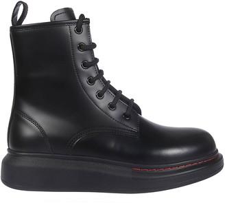 Alexander McQueen Lace-up Hi-top Sneakers
