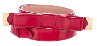 Prada Leather Bow-Accented Waist Belt