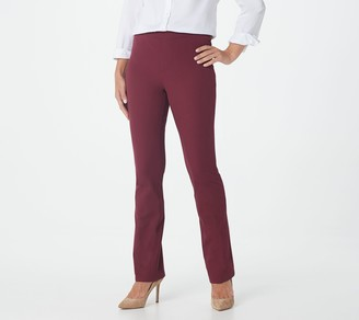 Isaac Mizrahi Live! Tall 24/7 Stretch Slim Boot-Cut Pants
