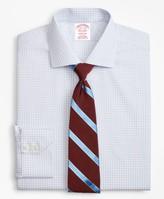 Brooks Brothers Madison Classic-Fit Dress Shirt, Non-Iron Two-Tone Windowpane