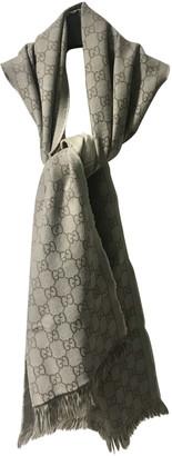 Gucci Beige Wool Scarves & pocket squares