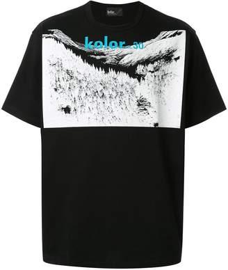 Kolor landscape print T-shirt