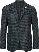 Lardini two-button tweed blazer