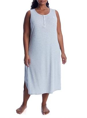 Lauren Ralph Lauren Plus Size Ballet Knit Nightgown