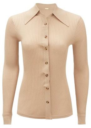 Dodo Bar Or Paya Rib-knitted Shirt - Beige