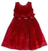 Isabel Garreton Sleeveless Velvet Dress (Toddler Girls, Little Girls & Big Girls)
