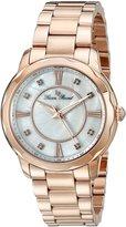 Lucien Piccard Women's Balarina 40000-RG-22MOP Rose-Tone/ Stainless Steel Watch