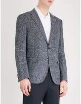 Boss Slim-fit Wool-blend Jacket