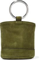 Simon Miller Bonsai 15 Nubuck Bucket Bag - Army green