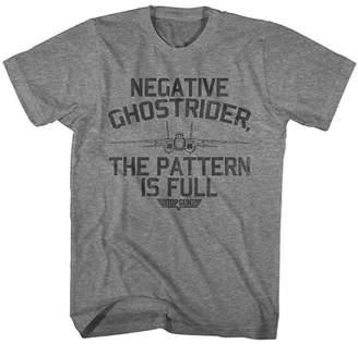 Top Gun American Classics Boys' Tee Shirts GRAPHITE Graphite Heather 'Negative Ghostrider' Tee - Boys & Men
