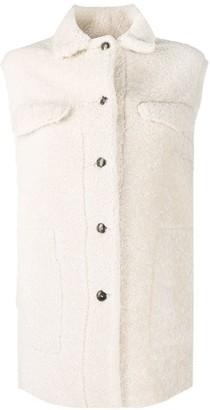 Simonetta Ravizza Allegra sleeveless jacket