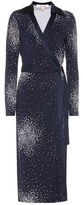 Diane von Furstenberg Printed silk wrap dress