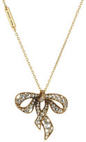 Marc Jacobs Embellished Bow Necklace