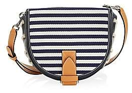 J.W.Anderson Women's Small Striped Lace-Up Bike Bag