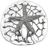 Best Lg. Silver Textured Sand Dollar Starfish Pendant Slide / Brooch- Sea Life Beach Fashion Jewelry Lead-Free