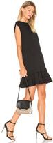 McQ by Alexander McQueen Peplum Sweat Dress