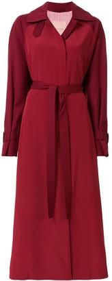 Roksanda tie waist flared dress