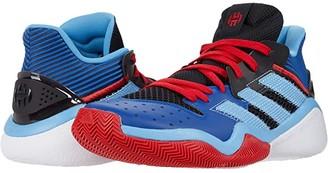 adidas Harden Stepback (Black/Team Light Blue) Basketball Shoes