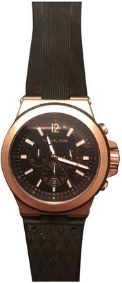 Michael Kors Pink Steel Watches
