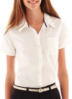 Arizona Short-Sleeve Button-Front Uniform Shirt