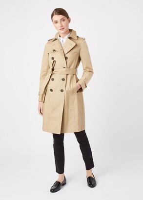 Hobbs Petite Saskia Trench Coat