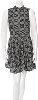 Porter Grey Patterned Knit Dress