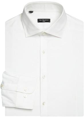 Saks Fifth Avenue MODERN Basic Stretch Button-Down Dress Shirt