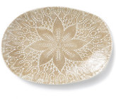 Vietri Lace Natural Large Oval Platter