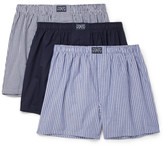 Polo Ralph Lauren Three-Pack Cotton Boxer Shorts