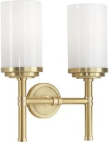 Rob-ert Halo 2-Light Armed Sconce Robert Abbey Finish: Brushed Brass