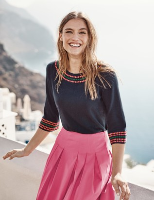 Monmouth Embroidered Jumper