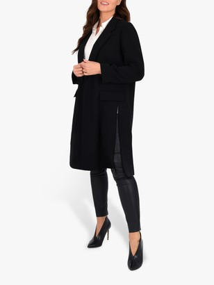 Live Unlimited Tailored Button Jacket, Black