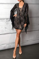 Savee Couture Savee Lace Up Dress