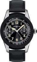 Montblanc 117548 Summit Pvd Stainless Steel And Leather Smartwatch
