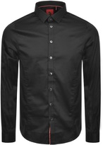 Luke 1977 Butchers Pencil Shirt Black