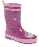Kidorable Girl's 'Butterfly' Waterproof Rain Boot