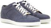 Jimmy Choo Miami Embossed Leather Sneakers