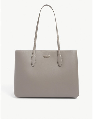 Kate Spade All Day branded leather tote bag