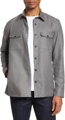 Nordstrom Fleece Shirt Jacket