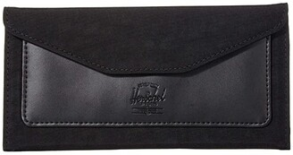 Herschel Orion Large Wallet (Black) Wallet Handbags