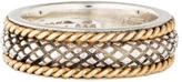 Stephen Dweck Two-Tone Textured Band