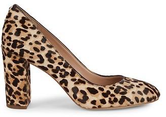 Sam Edelman Stillson Leopard Calf-Hair Pumps