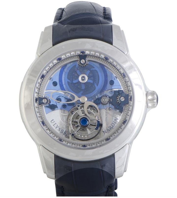 Ulysse Nardin Royal Blue Mystery Tourbillon Men's Watch