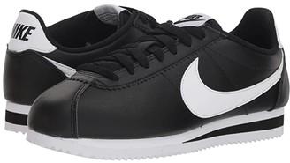 Nike Classic Cortez Leather (Black/White/White) Women's Shoes