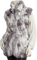 Adrienne Landau Textured Goma Vest