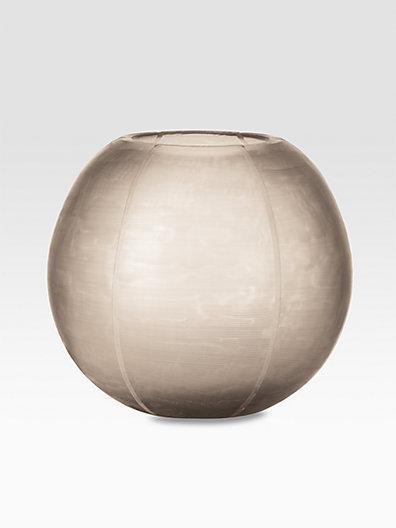 Donna Karan Etched Round Vase/Icicle