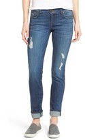 KUT from the Kloth 'Catherine' Distressed Stretch Boyfriend Jeans (Yearn) (Regular & Petite)