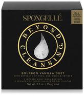 Spongelle Duo Bourbon Vanilla Body Wash Infused Buffer