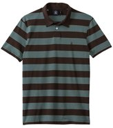 Volcom Men's Wowzer Stripe Short Sleeve Polo Shirt 8133342
