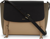 DKNY Greenwich leather messenger bag